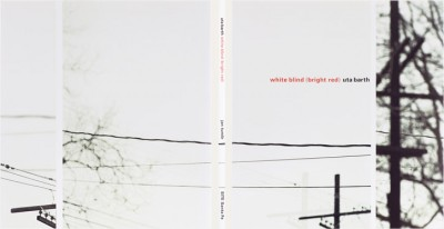 Uta Barth: white blind (bright red)